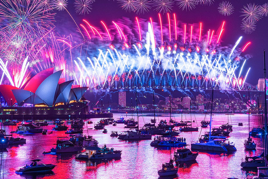 Sydney Harbour Cruise on New Year's Eve